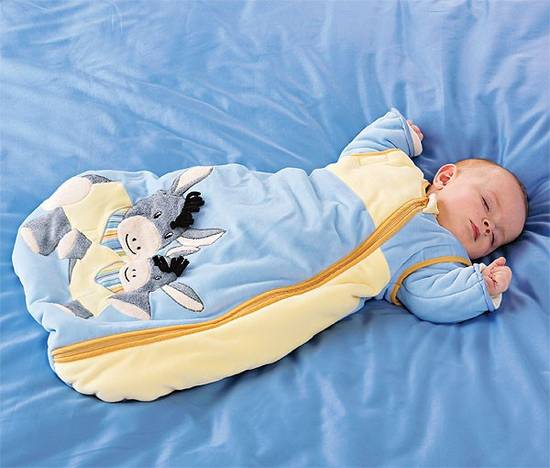 Выкройка спального мешка для ребенка