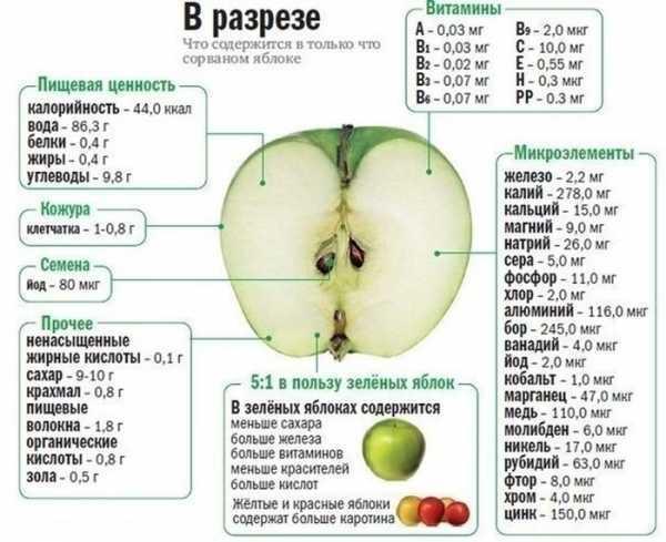 Стоит ли женщине есть яблоки во время грудного вскармливания?