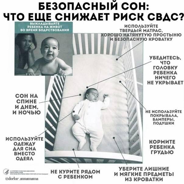 Синдром внезапной детской смерти (свдс) - доказательная медицина для всех