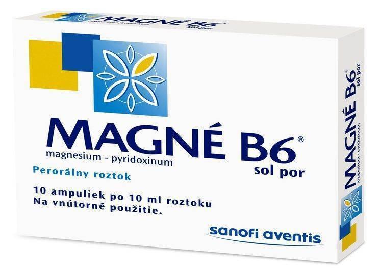 Магне b6: описание, инструкция, цена