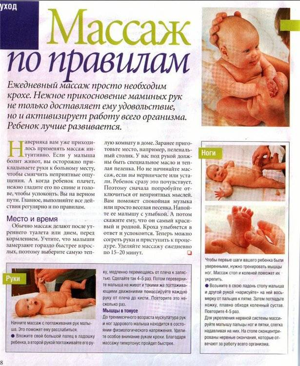 Массаж для укрепления ног ребёнку и взрослому