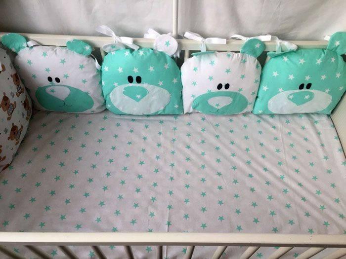 Бортики в кроватку – лучшие идеи как подобрать защитные элементы для детей
