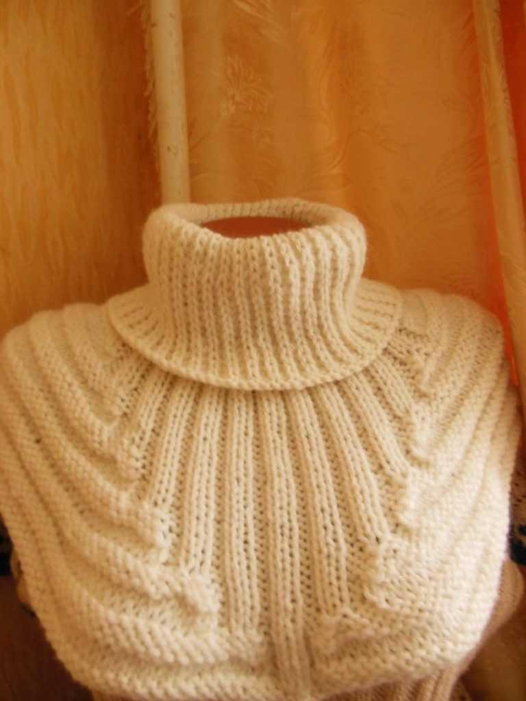 """Манишка """" проще не куда"""" - вязание для детей - страна мам"""