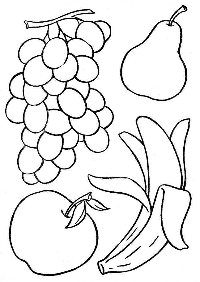 Учимся поэтапно рисовать натюрморт с фруктами (+ раскраска). натюрморт с фруктами