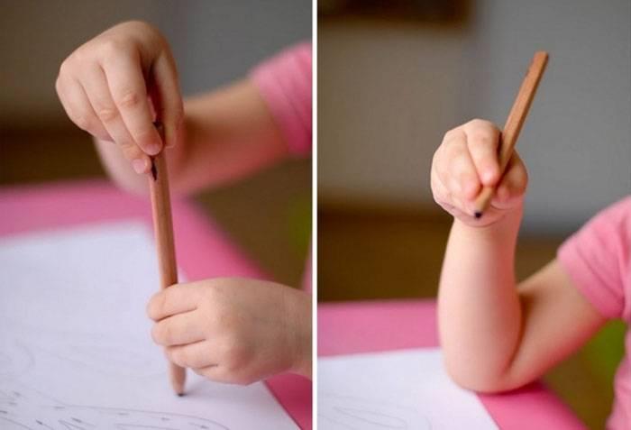 Учим малыша держать карандаш: советы родителям