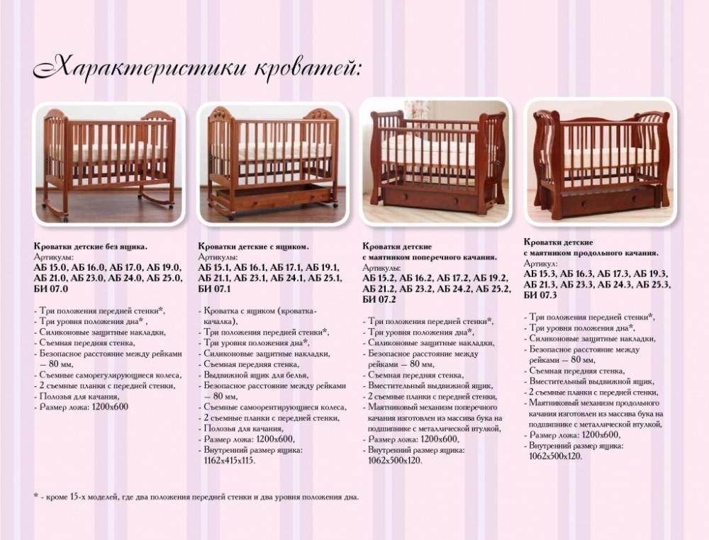 Выбираем детскую кроватку для новорожденного в 2021 году. рейтинг самых популярных моделей