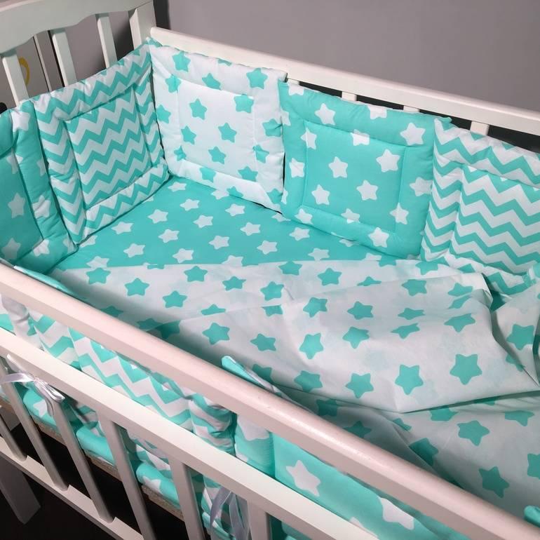 Бортики в кроватку: как сделать своими руками ограждение для новорожденных