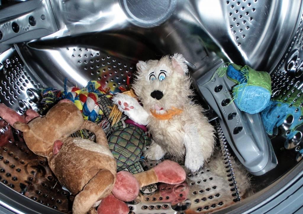 Как стирать мягкие игрушки в стиральной машине