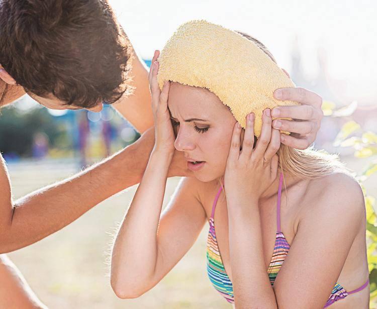 Жара и грудничок - как защитить грудничка от перегрева, как помочь грудничку в жару.