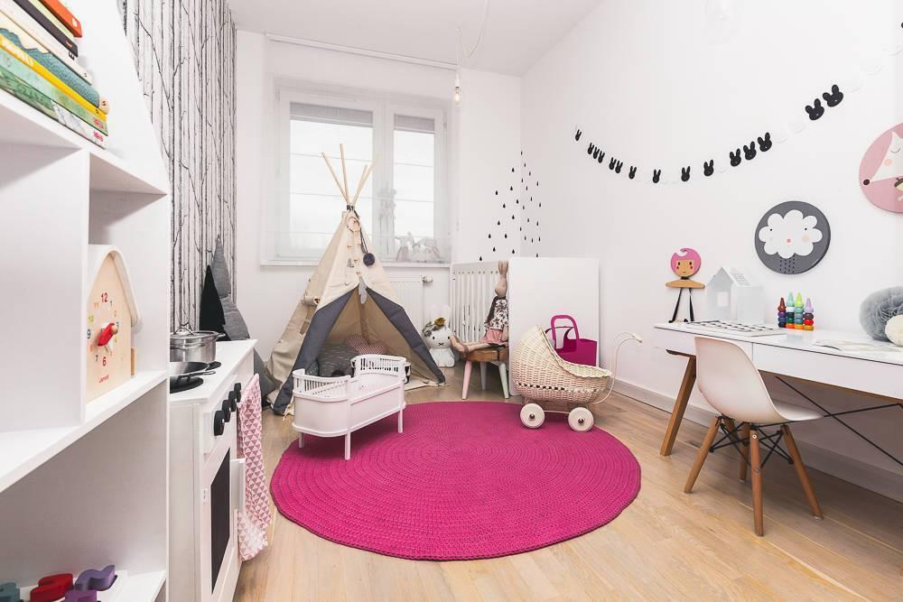 Скандинавский стиль в детской комнате