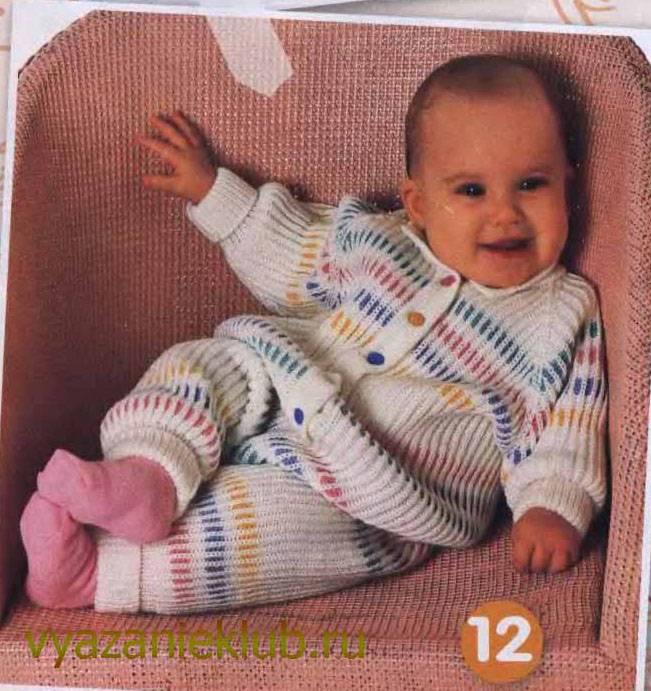 Вязание носочков для малышей