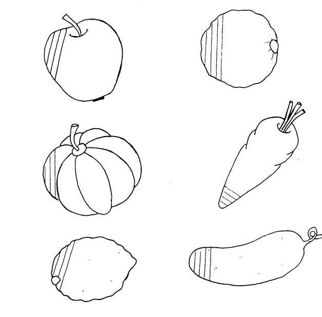 Конспект образовательной деятельности по развитию речи и рисованию в средней группе «овощи и фрукты». воспитателям детских садов, школьным учителям и педагогам - маам.ру