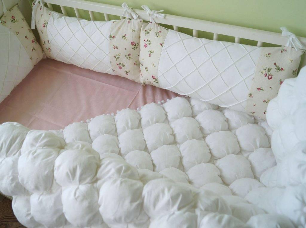 Мастер-класс: как пошить защиту на кроватку