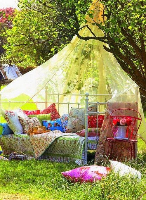 Зона отдыха на даче — как организовать на даче или в саду. 105 фото самых успешных проектов и идей