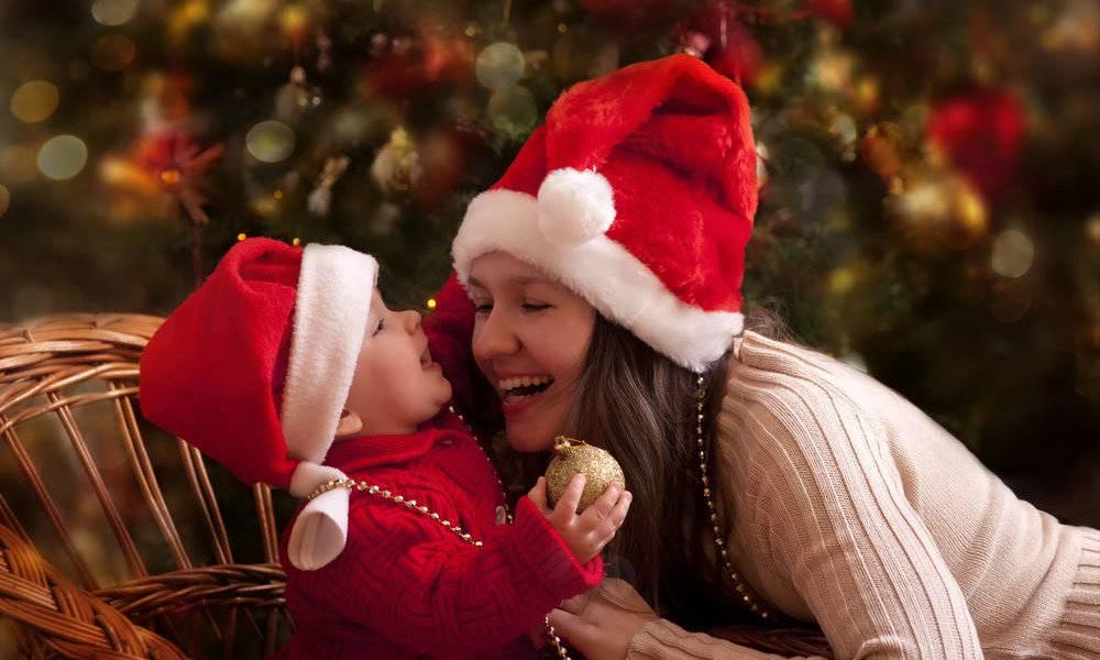 Новый год без забот: встречаем праздник с младенцем. первый новый год малыша