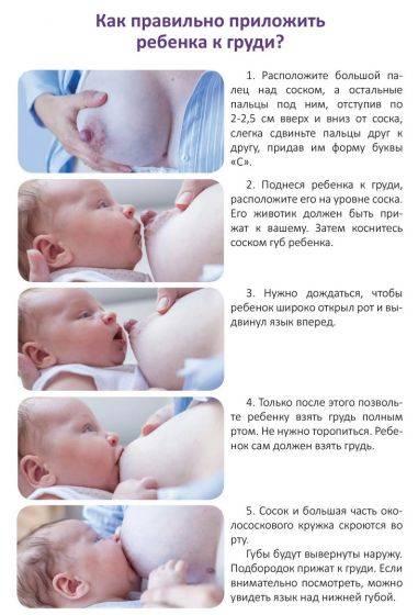 Ребенок не берет грудь