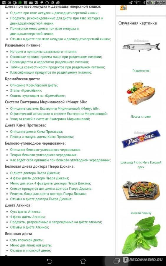 Всё о безглютеновой диете: список разрешенных продуктов, меню на неделю