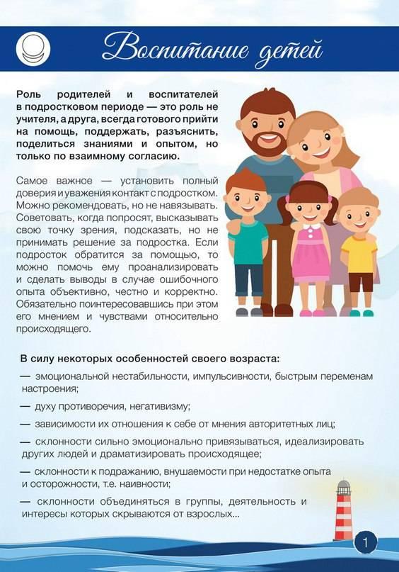 Трудности родителей в периоды возрастных кризисов у детей