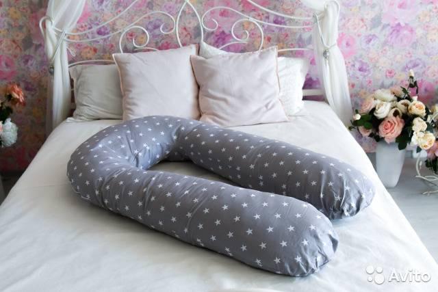 U образная подушка для беременных: назначение и способы использования