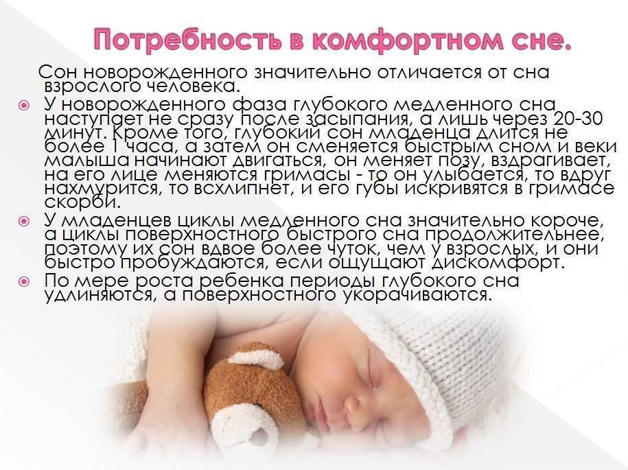 Уход за малышом в первые недели и месяцы жизни