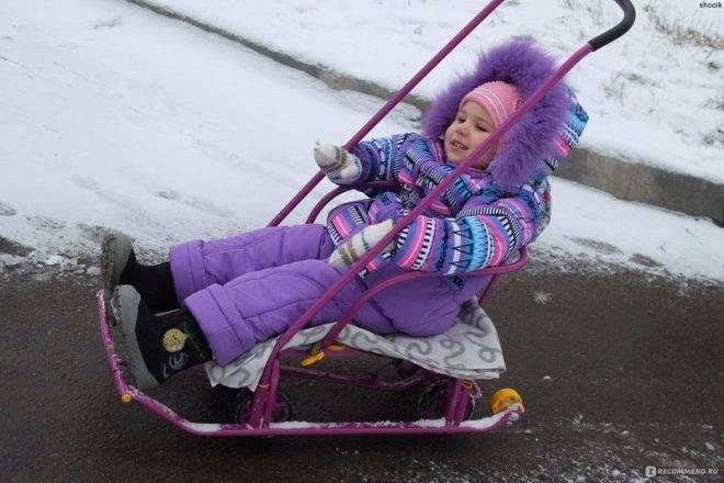 Санки-коляска - болталка для мамочек малышей до двух лет - страна мам