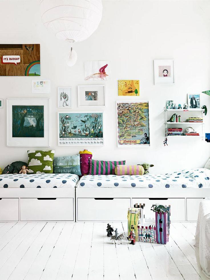 Детская комната в скандинавском стиле: как обустроить помещение для мальчика или девочки, как оформить интерьер для подростка, освещение, идеи дизайна на фото
