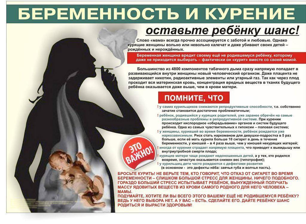 Курение во время беременности. почему это может быть опасно курение при беременности?