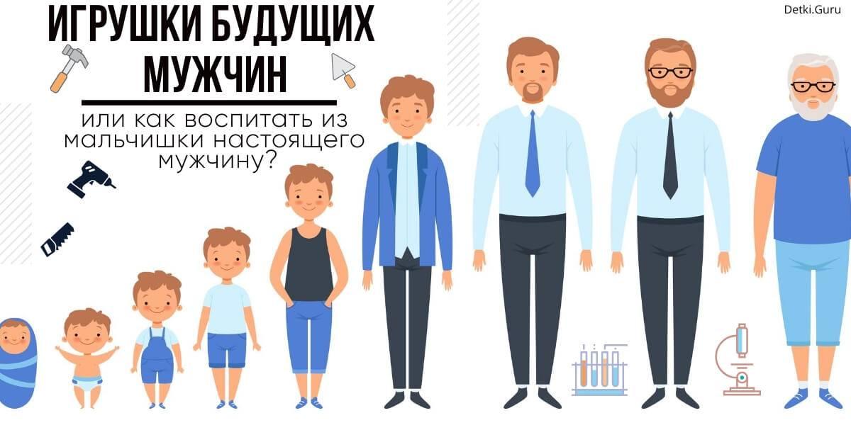 Как воспитать в мальчике качества, присущие мужчине? - воспитание и психология