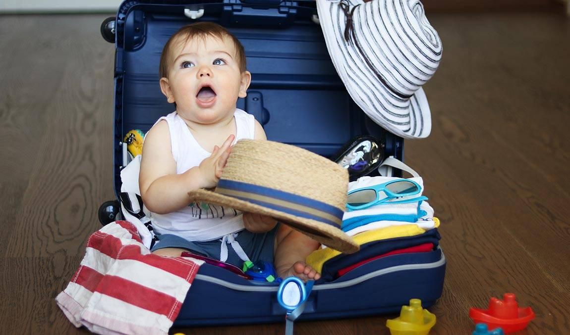 Отпуск с ребёнком: как правильно подготовиться