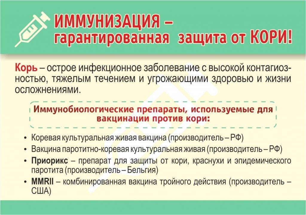 Вакцина m-m-p ii в москве - прививка против кори, краснухи и паротита - цена, описание вакцины