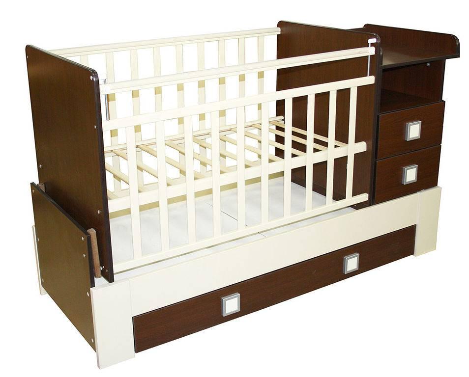 Кроватка-трансформер – плюсы и минусы