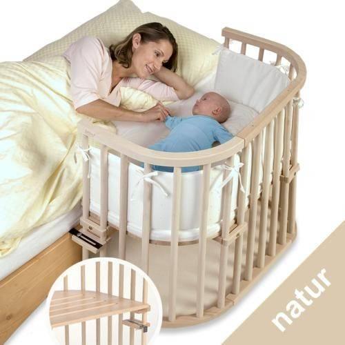Малыш всегда рядом – приставные кроватки для новорожденных