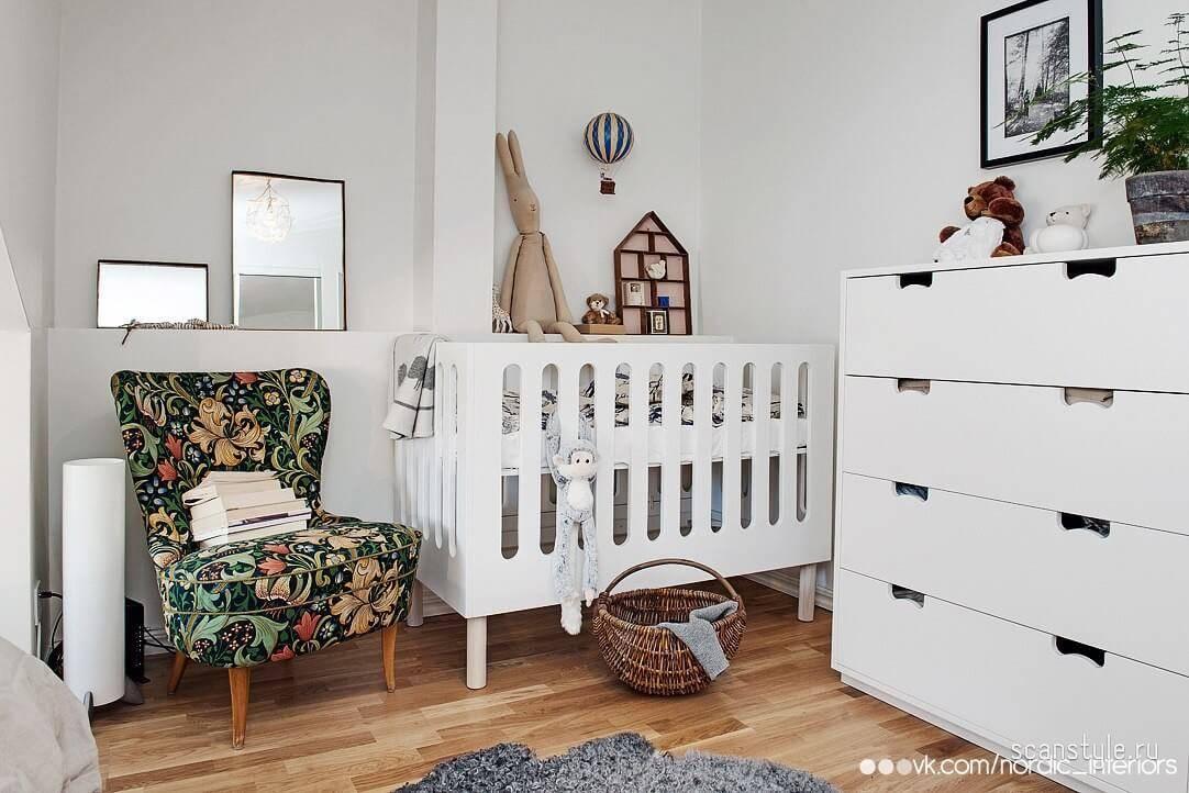 Скандинавский стиль в детской — хорошо играется и спокойно отдыхается