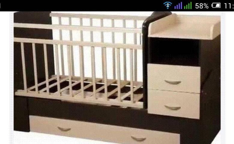 Детская кровать трансформер для новорожденных: с комодом или маятником, размеры, преимущества и недостатки, как правильно выбрать