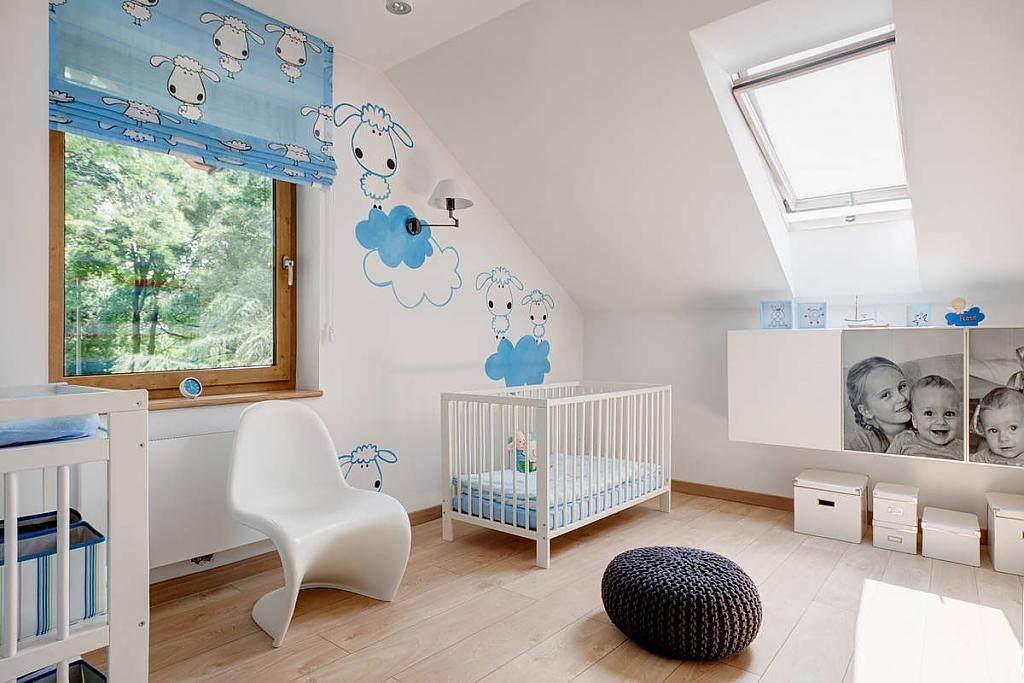 Детская для новорожденного: правила обустройства, секреты дизайна, 70 фото
