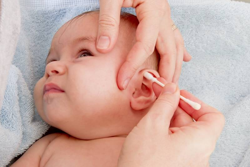 Формирование зрения у новорожденных детей