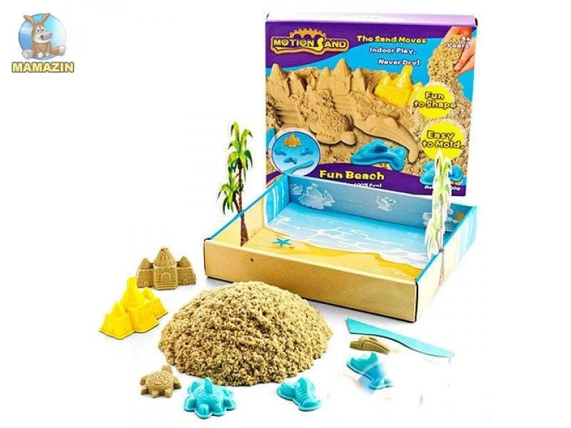 ☀️особенности кинетического, живого и космического песка - какой выбрать и основные производители