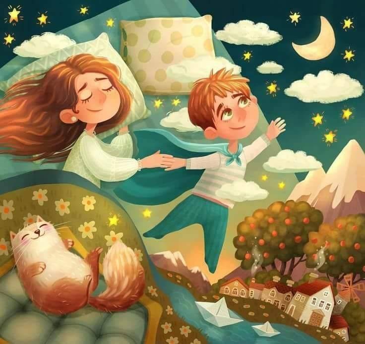 Сказка перед сном для любимой девушки. романтические сказки про любовь