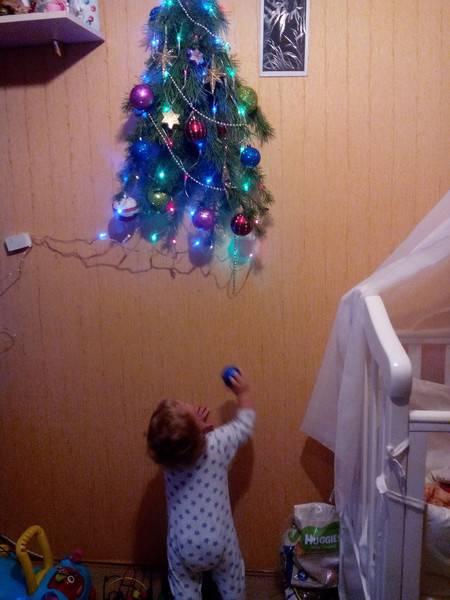 Острый момент: нужна ли ёлка, когда в доме дети