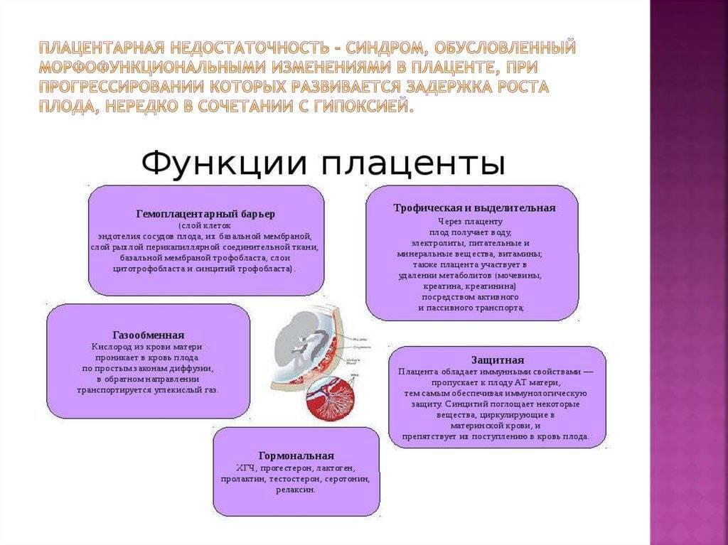 Отслойка плодных оболочек, плацентарная недостаточность и антенатальная гибель плода на 30 неделе