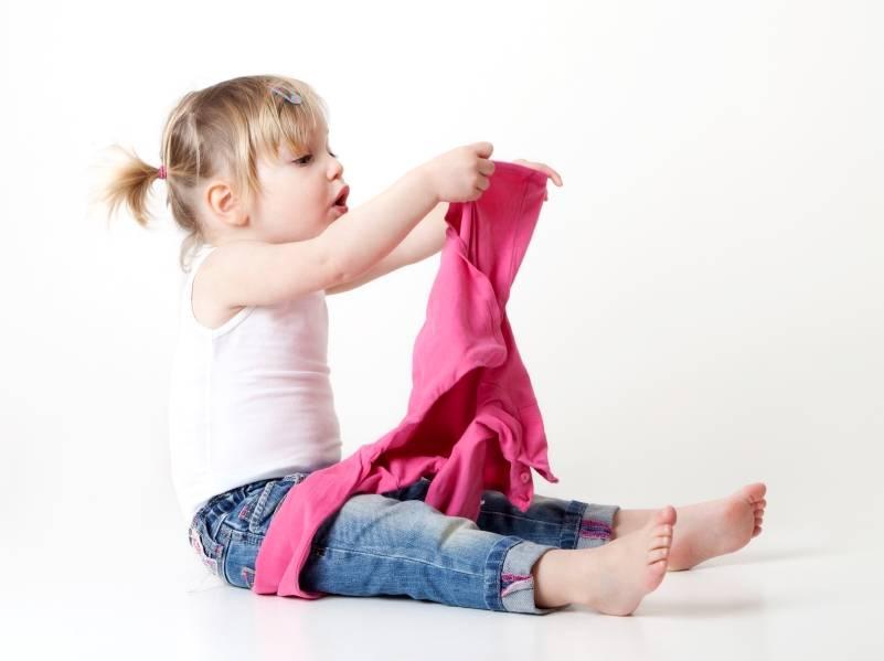 Как одеть ребенка утром без мучений