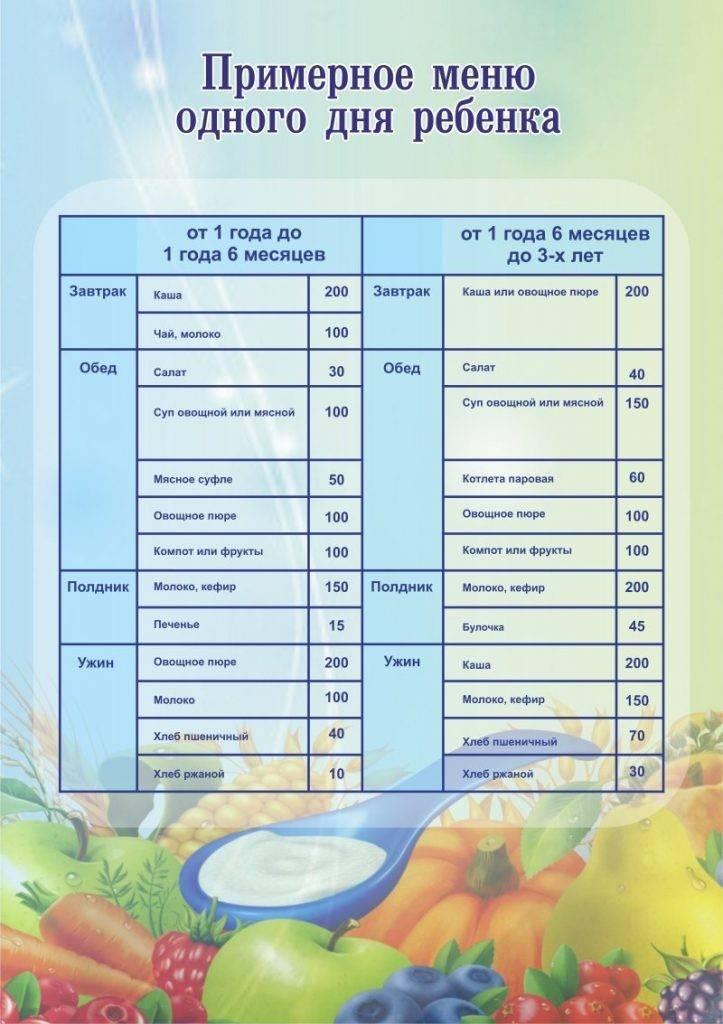 27 рецептов: большое меню для ребенка от 6 мес и до 1 года
