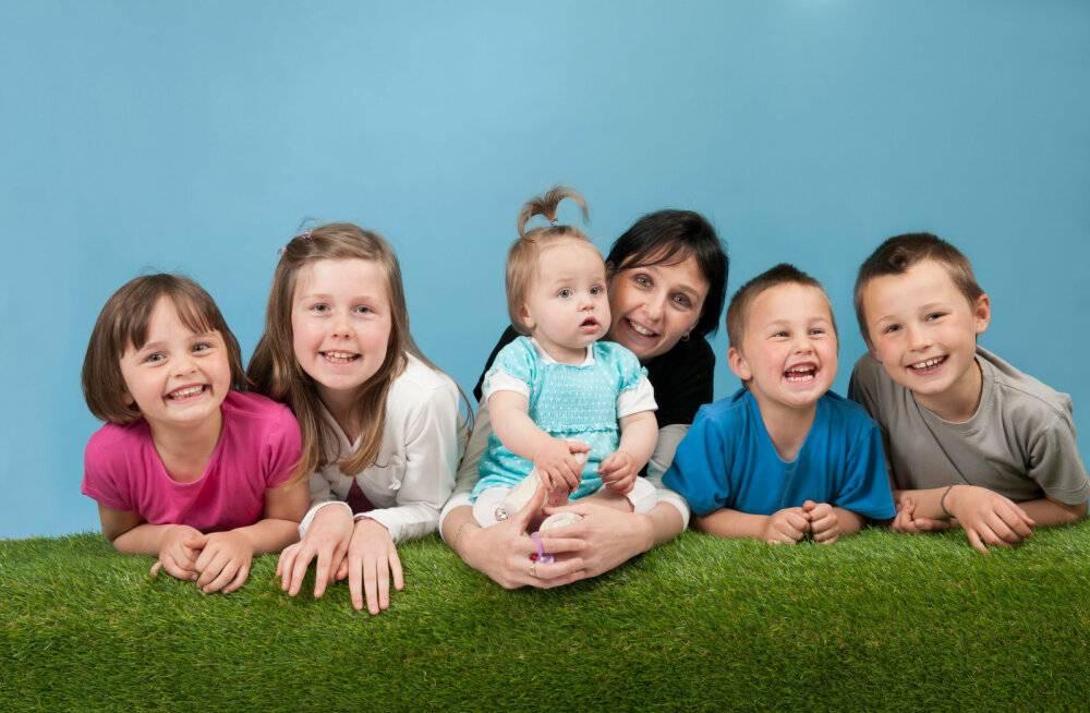 Семейная наследственность. как живет многодетная мама в третьем поколении?