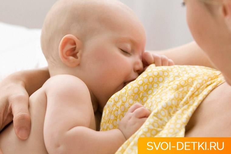 Ребенок отказывается сосать грудь?   lovi