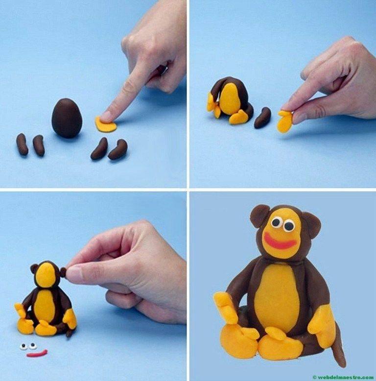 Лепка для малышей 1-2 лет или развивающие игры с тестом