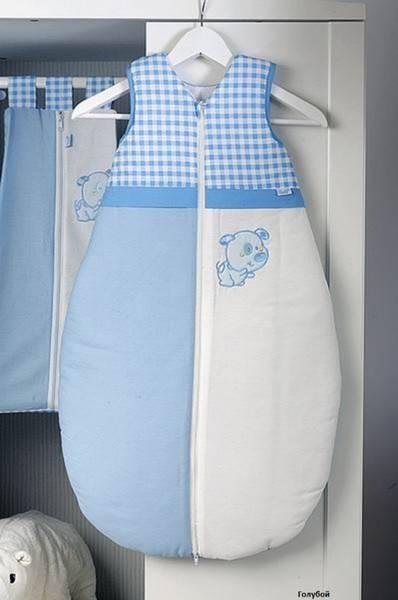 Спальный мешок для новорожденных: как выбрать или сшить самим