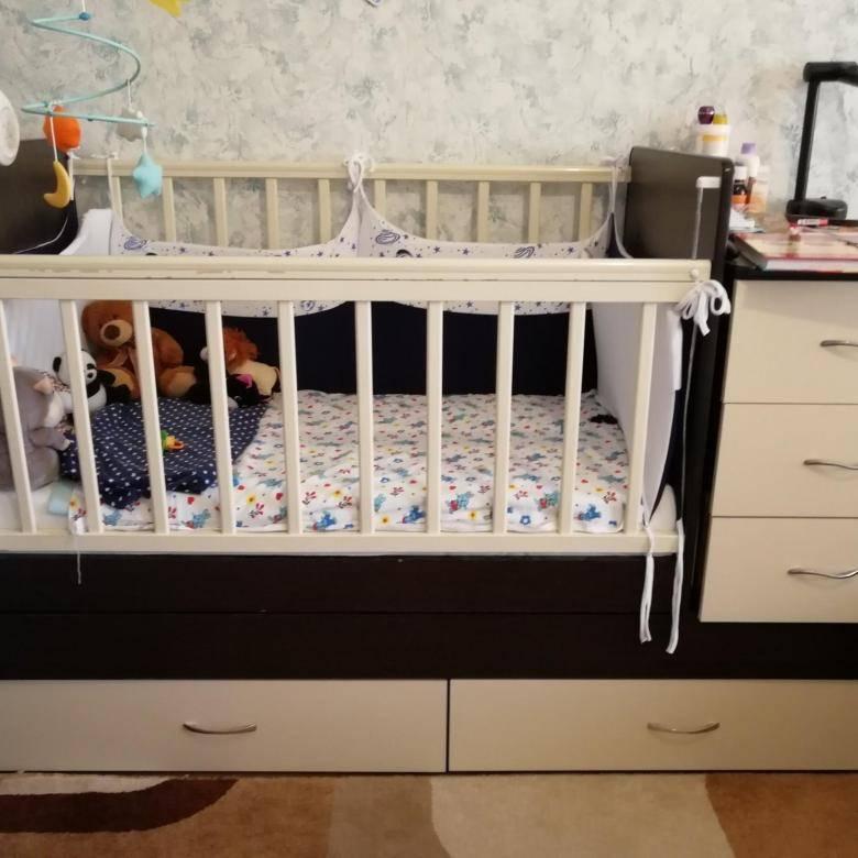Кроватка трансформер для новорожденных - обзор лучших многофункциональных моделей (100 фото)