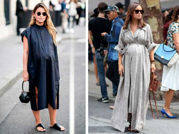 Как выглядеть стильно во время беременности: 5 главных модных правил