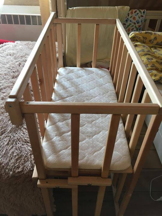 Приставная кроватка для новорожденных | мебель | mattrasik.ru