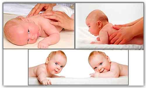 Учимся правильно выкладывать новорожденного на животик
